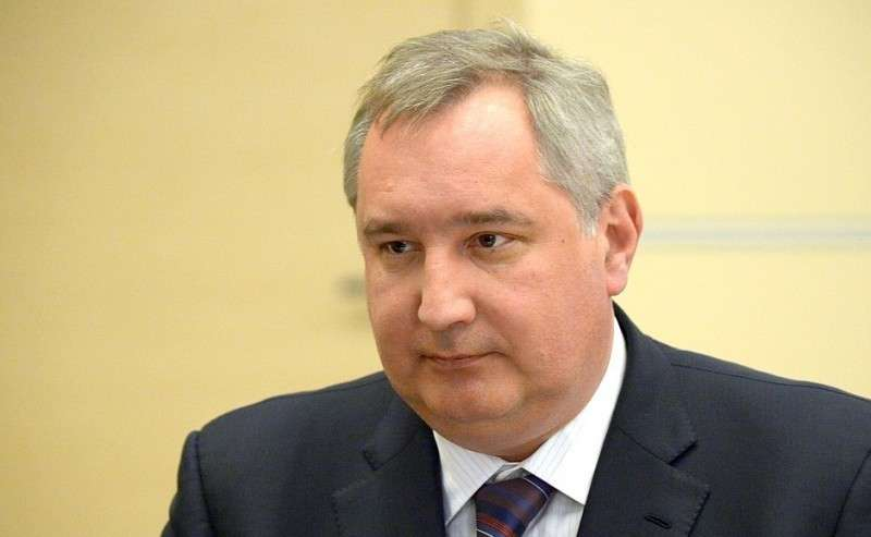 Заместитель Председателя Правительства Дмитрий Рогозин.