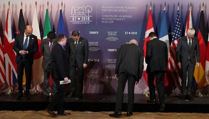 Российская угроза спасает «Большую семерку» и «маленькую шестерку» от распада