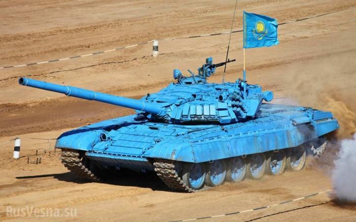 Сирия: наёмники сдали армии казахские танки и признались, что получили их от США