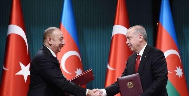 Ильхам Алиев и Реджеп Эрдоган