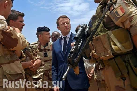 Зачем Франция пытается пристроиться к победителям в Сирии? | Русская весна
