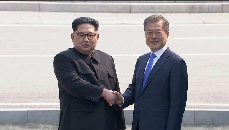 Историческая встреча лидеров Северной и Южной Кореи состоялась