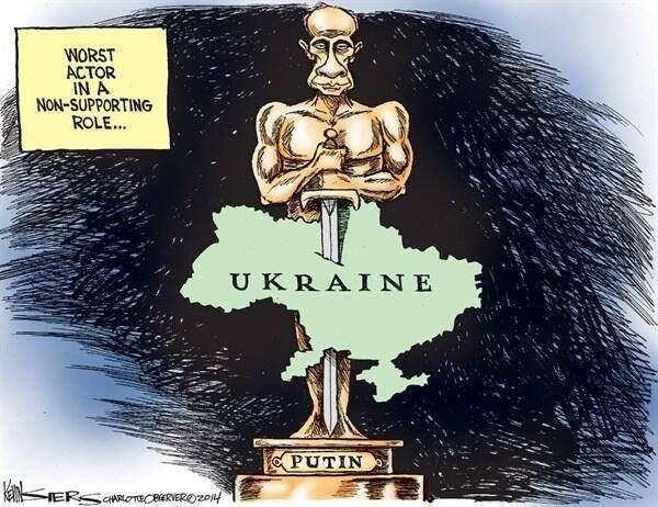 Хроника вторжений России Навукраину