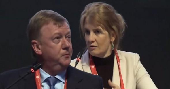 Наталья Касперская разнесла в пух и прах речь болтуна Чубайса на цифровом форуме