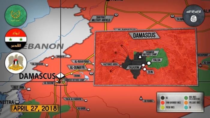 Сирия. Россия привезла в логово глобалистов очевидцев химатаки в Думе