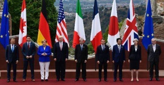 Пиндосы довели до ручки своих шестёрок из «Большой семёрки»