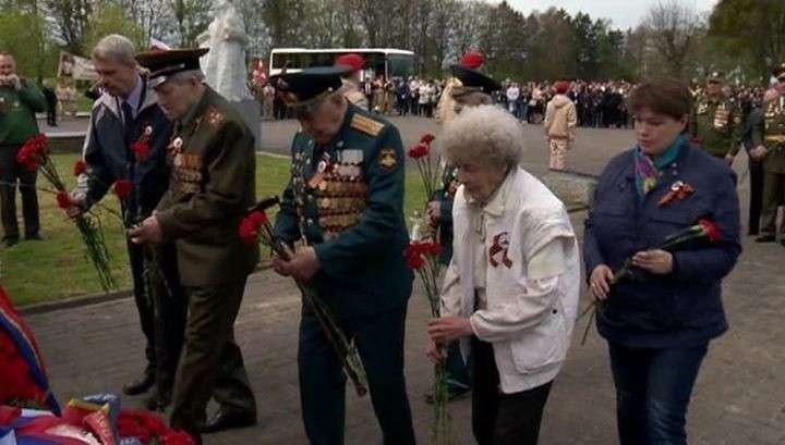 В польском Баранёво проходит акция памяти советских воинов, павших в Великой Отечественной