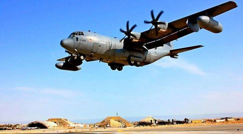 В Сирии американский суперсовременный самолёт РЭБ EC-130 русские просто выключили