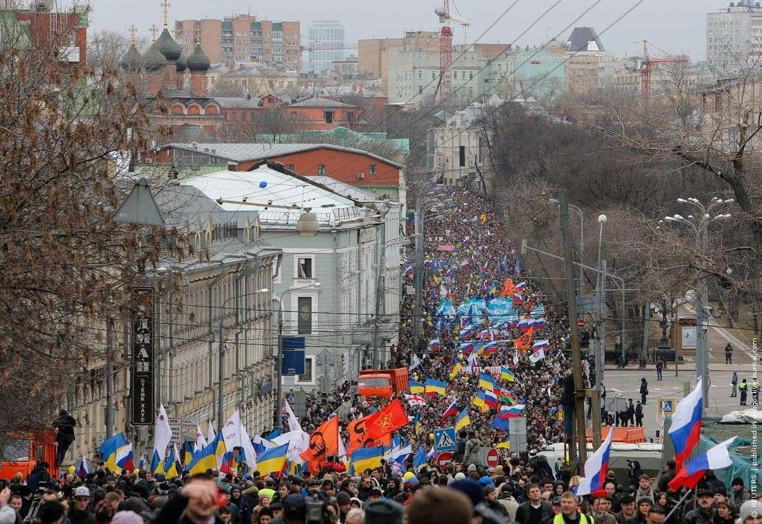 Марш бандеровцев в Москве: почему их так много?