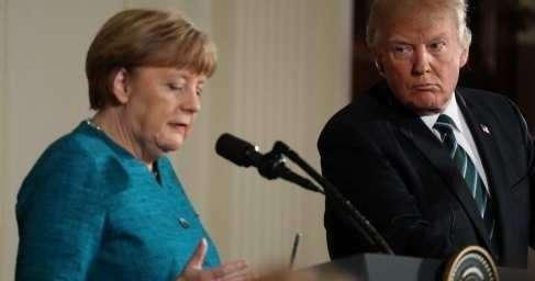 Меркель вернулась от Трампа совсем другим человеком