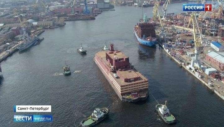 Первая в мире плавучая АЭС