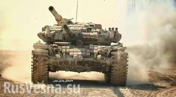 ВКС России и армия Сирии расчленили надвое лагерь Ярмук | Русская весна