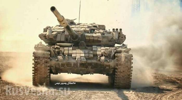 ВКС России и армия Сирии расчленили надвое лагерь Ярмук