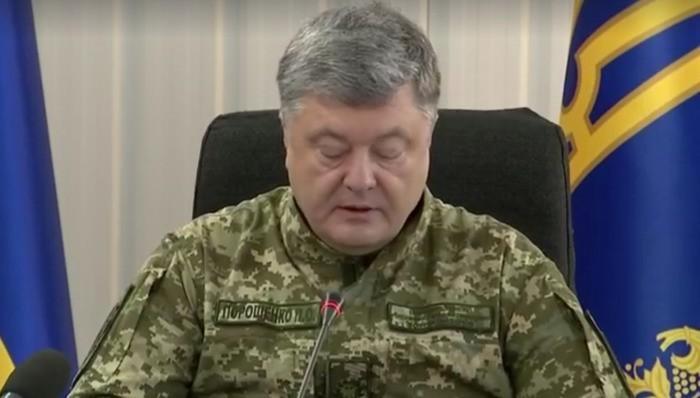 Порошенко объявил о начале новой карательной операции в Донбассе