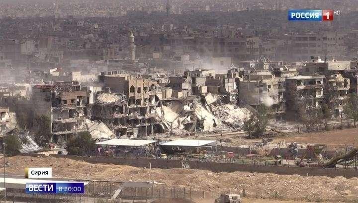 Сирия: войска Асада «выселяют» американских наёмников из нескольких районов Дамаска