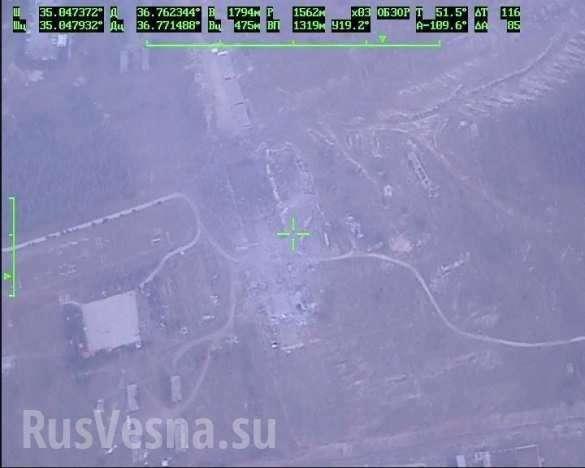 Огненный ад: последствия ночного авиаудара по секретному объекту в Сирии | Русская весна