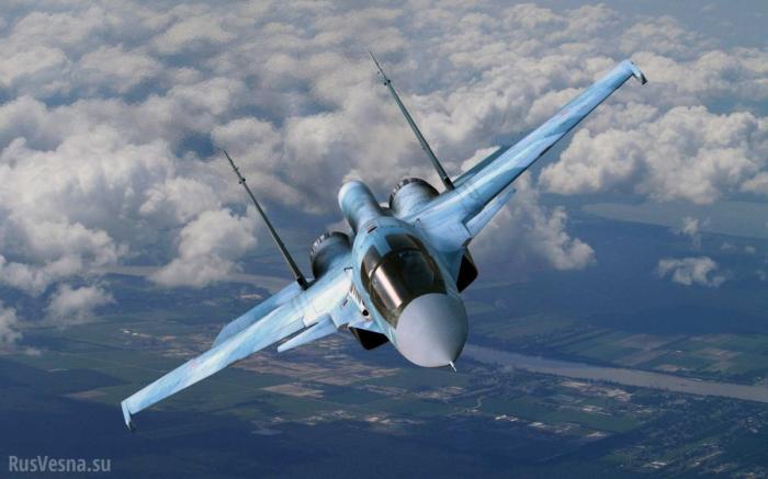 Су-34ислёзы американского спецназа в Сирии