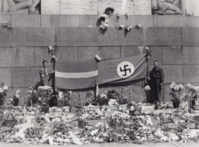 Министр обороны Латвии: «Мы с 1940 года рады немецкому сапогу на латышской земле»