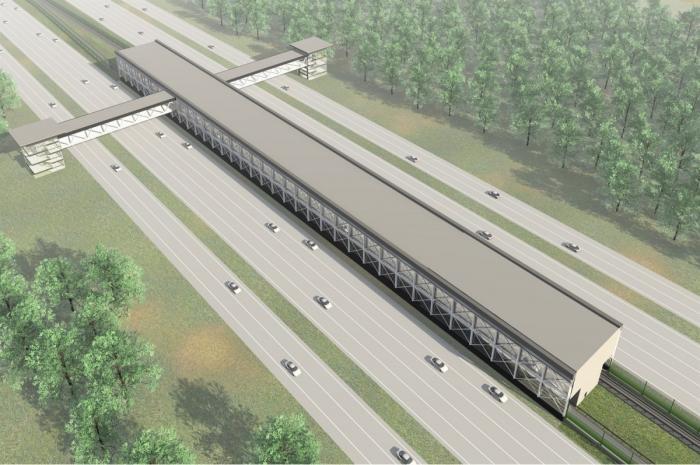 Масштабное строительство нового участка Сокольнической линии метро