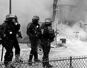Париж: начались погромы против трудовой реформы Макрона
