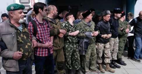 Добровольцы Донбасса и казаки сорвали укро-нацистский шабаш в Сахаровском центре в Москве
