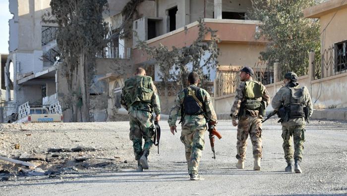 Сирия, Хомс. Наёмники США бросают оружие и «покупают» билет в Идлиб