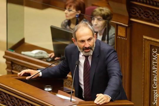 Фаворит Госдепа Пашинян надел галстук и полюбил Россию ради власти в Армении