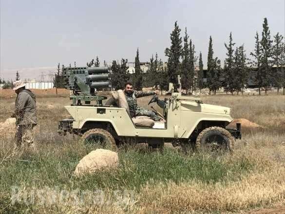 Сирия: ВКС и армия обрушили на ИГИЛ тонны бомб, пехота рвётся сквозь руины Ярмука | Русская весна