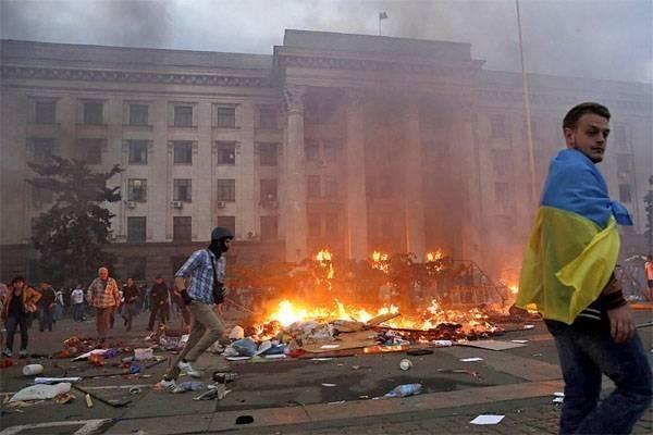 Годовщина Одесской трагедии: сожжение в Доме Профсоюзов