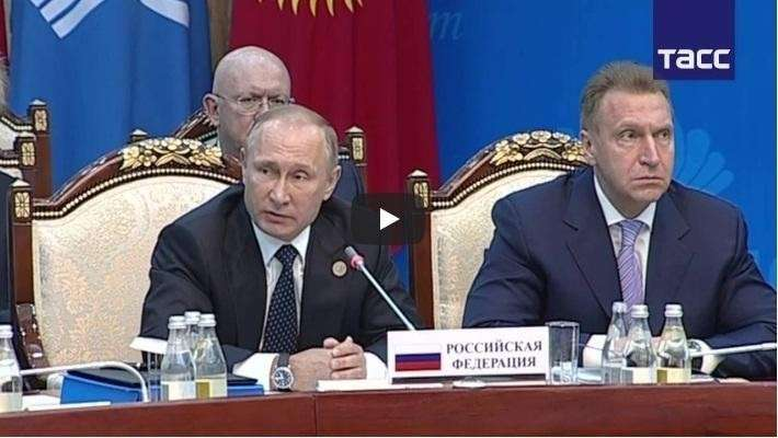 Владимир Путин привёл в чувство закатившего истерику посла Украины в СНГ