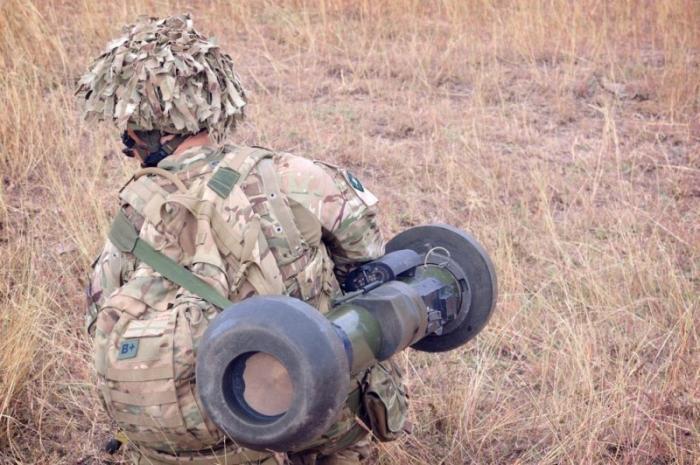 Джавелин Украина: в дурдом завезли желанную игрушку