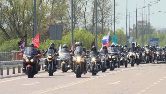 Польские евреи снова не пропустили мотопробег «Ночных волков» по дорогам Победы