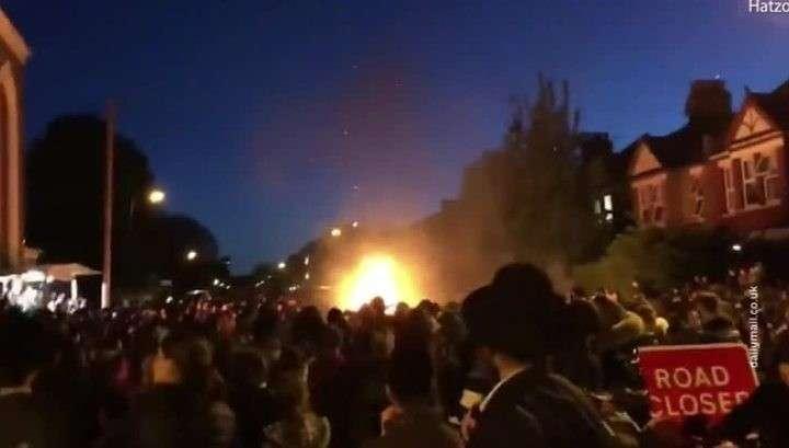 Лондон. Взрыв на еврейском шабаше, пострадали 30 человек