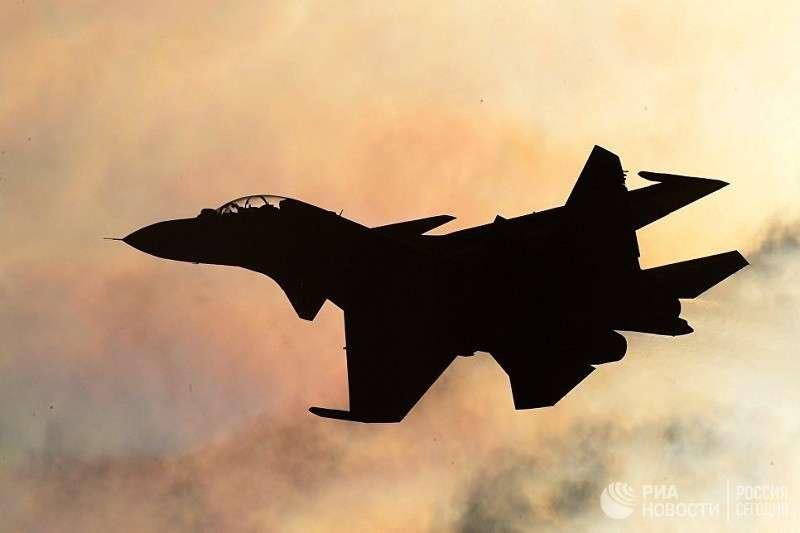 Сирия: разбился русский истребитель Су-30СМ