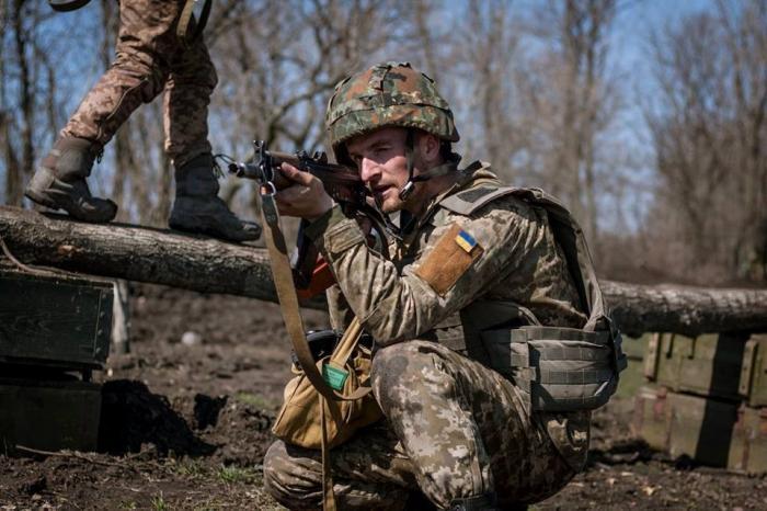На Украине одичавшие каратели обстреляли беспилотник ОБСЕ