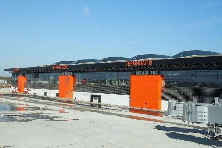 Первый рейс отправлен изнового терминала «В» аэропорта Шереметьево