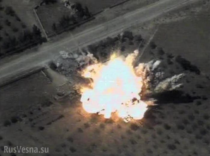 ВКС России разбомбили базы наёмников США в Сирии