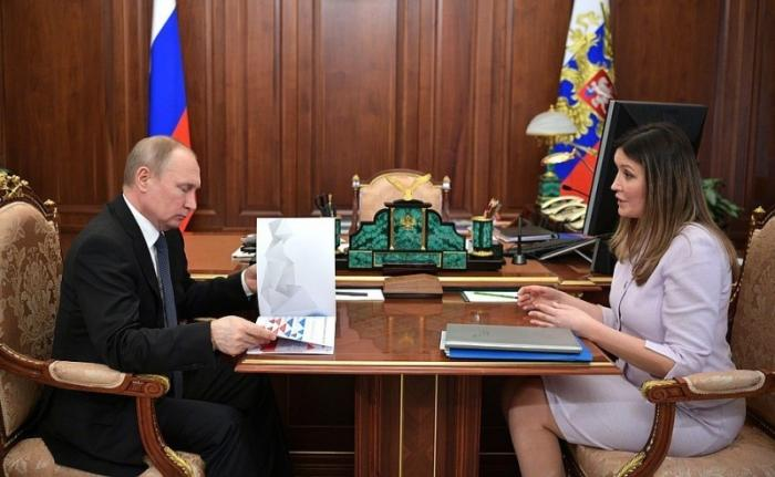 Встреча Владимира Путина с генеральным директором Агентства стратегических инициатив
