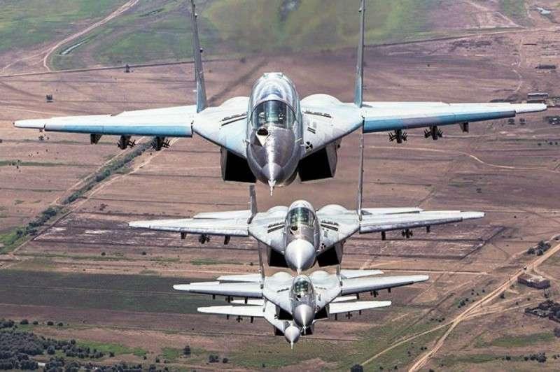 Упреждающие удары ВКС РФ по боевикам ССА
