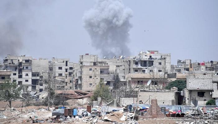 Авианосная группа ВМС США приступила к ударам в Сирии