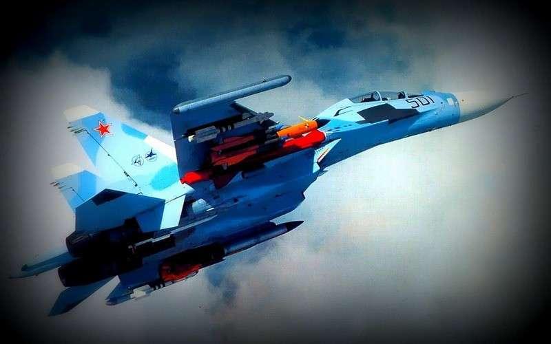 Су-30 ВКС России пресекли попытки израильских истребителей атаковать Сирию