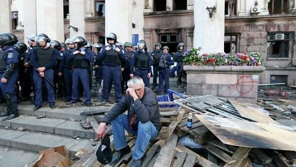 Сожжение дома Профсоюзов. Весна утраченных иллюзий