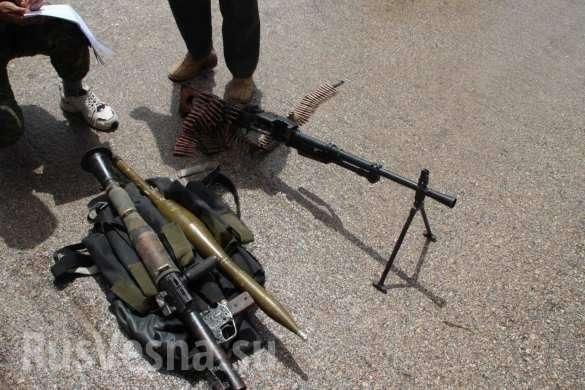 Армия России водрузила флаг над оплотом наёмников в Хомсе, банды сдают оружие и технику | Русская весна