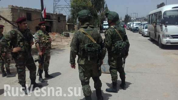 Сирия: вежливые люди отобрали у сотен наёмников и фанатиков оружие и выгнали из Ярмука | Русская весна
