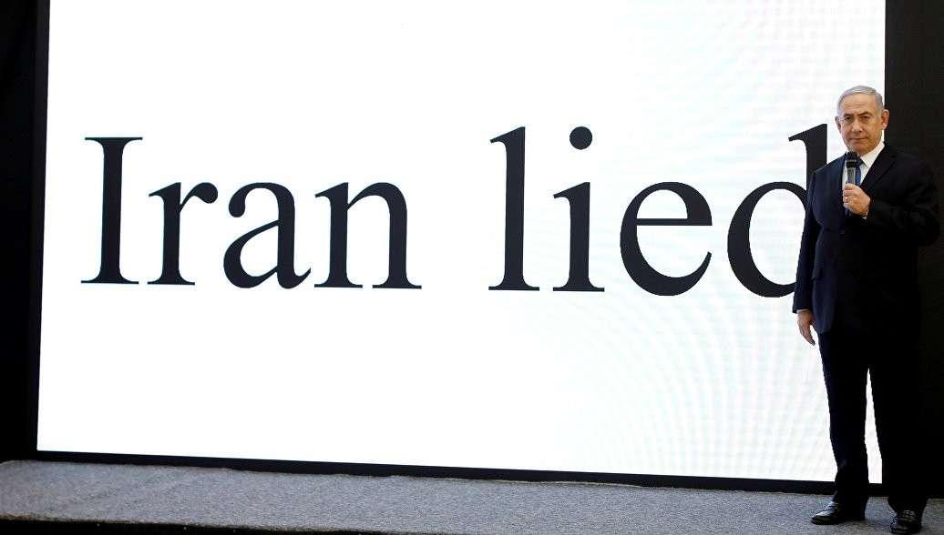 Израильская моська опять смело лает на Иран