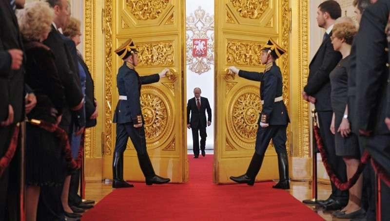 Сегодня в 12:00 в Кремле пройдет инаугурация Владимира Путина