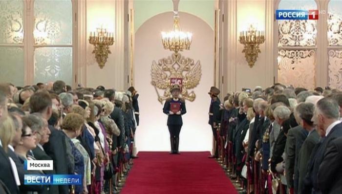 Инаугурация Владимира Путина : смыслы и символы, как это будет?