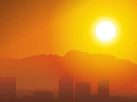 Жара в Калифорнии бьёт рекорды