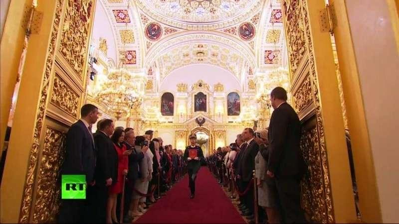 Церемония инаугурации президента России Владимира Путина – LIVE