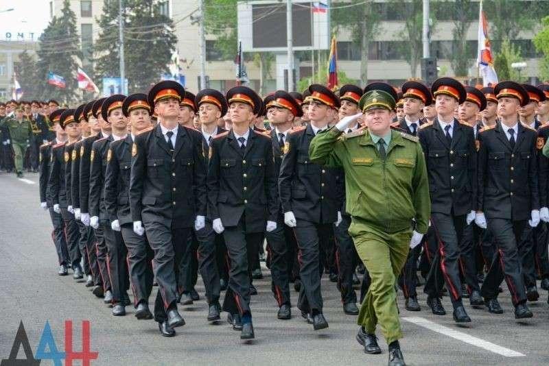 В Донецке прошла генеральная репетиция парада Победы